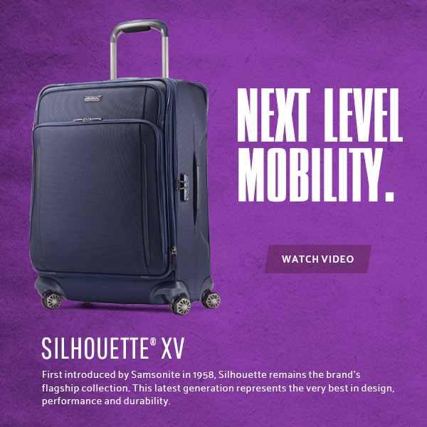 Samsonite Silhouette XV Collection - Next Level Mobility. Shop Now.