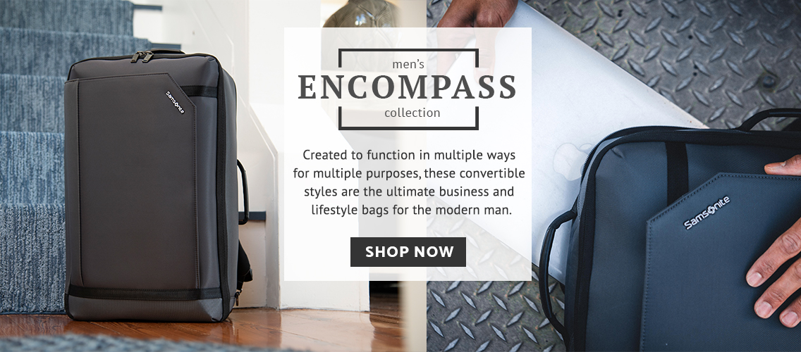 c6ce14e594b7a Click here · Samsonite Men s Encompass Collection - Created to function in  multiple ways for multiple purposes
