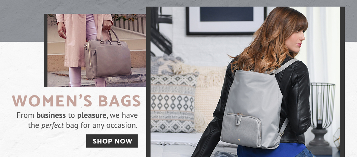 Samsonite Women's Bags - From business to pleasure, we have the perfect bag for any occasion. Click here to shop now.