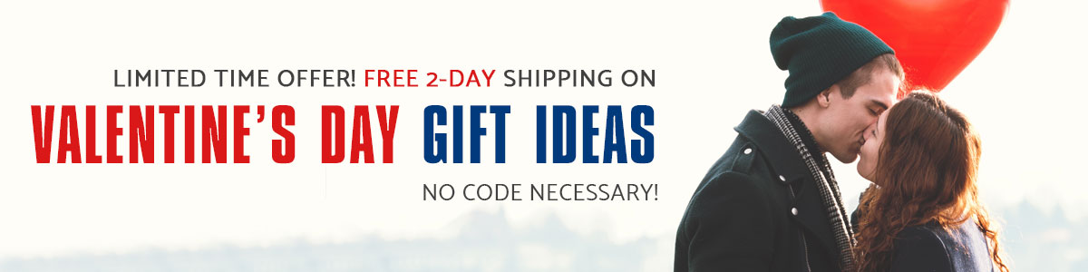 Shop Valentine's Day Gift Ideas and Get Free 2-Day Shipping no Code Required. - Shop Now.