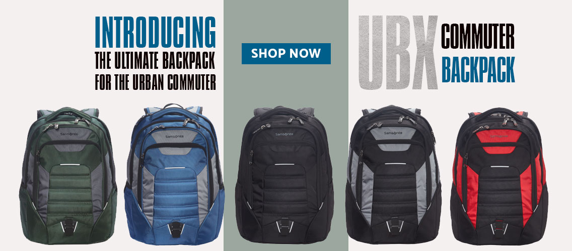 Introducing the UBX Laptop Backpack. The Ultimate Backpack for the Urban Commuter. Shop Now.