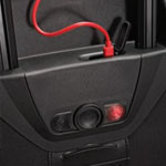 Each size includes a charger and mini USB Cable. LED indicator indicates charge   level and rediness