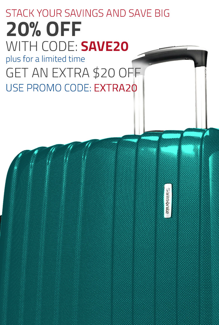 For a limited time only - 20% off Your Order plus and additional $20 Off select collections.