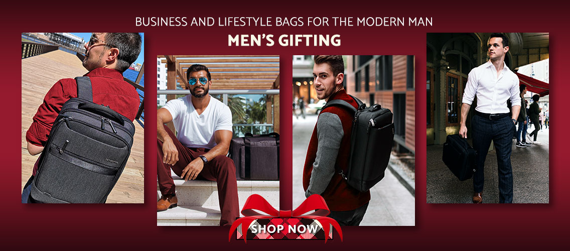 Men's Gifting. Business and Lifestyle Bags for the Modern Man. Click here to shop now.