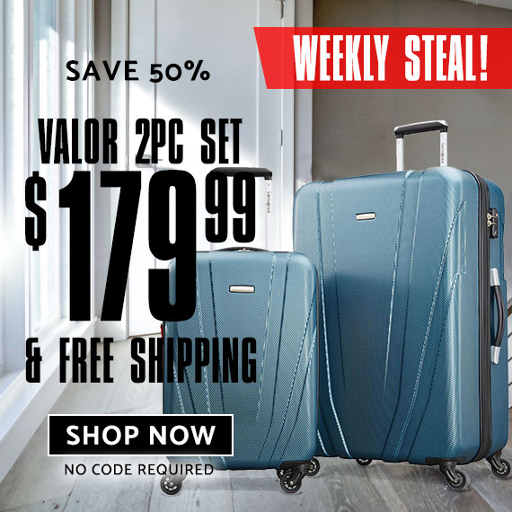 This week only - Valor 2 Piece set, just $179.99. No Code needed. Shop Now.