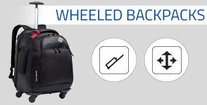 Shop Samsonite Wheeled Backpacks. The portability of a backpack, with the added convenience of wheels. Shop Now.