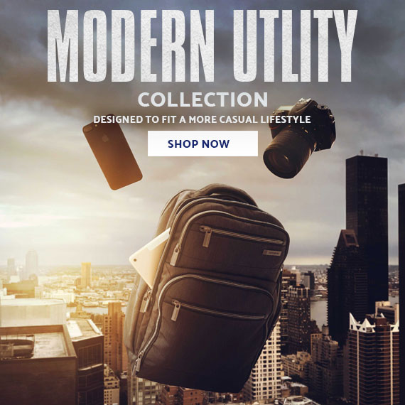 Samsonite's Modern Utility Collection. Designed to Fit a More Casual Lifestyle. Shop Now.