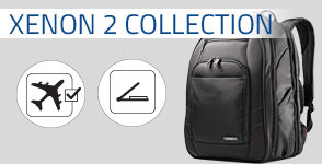 Shop Samsonite's Xenon 2 Collection. Xenon 2 equips you with professional style and cutting-edge innovation. The modern, contemporary design combines with Samsonite's craftsmanship to provide the quiet confidence of being ready for anywhere. Shop Now.
