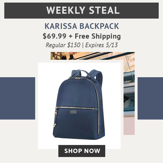 313e5f1c2 Limited Time Only - Weekly Steal - Karissa Backpack for only  69.99 plus  free standard shipping