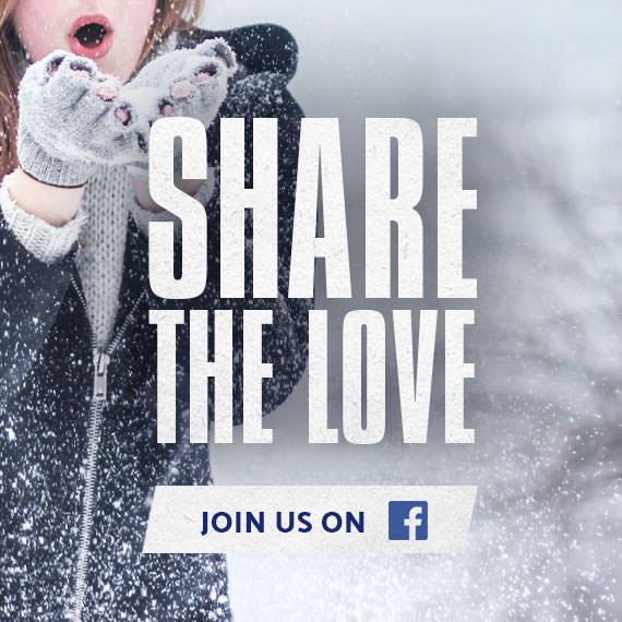 Share the Love. Follow Samsonite on Facebook