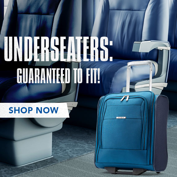 Samsonite Underseaters - Guaranteed to Fit! Shop Now.