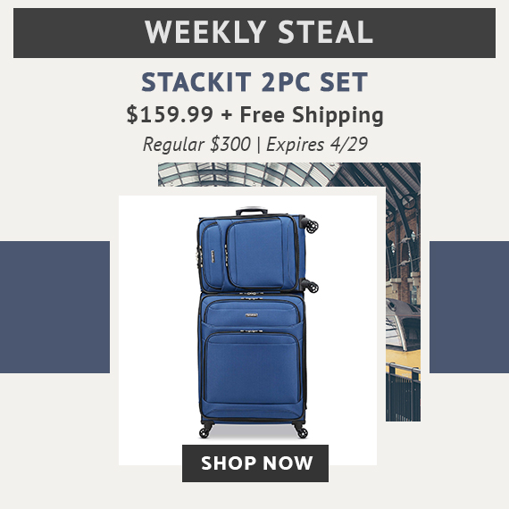 0f23fe195b2602 Limited Time Only - Weekly Steal - StackIt 2PC Set For Only  159.99 plus  free standard