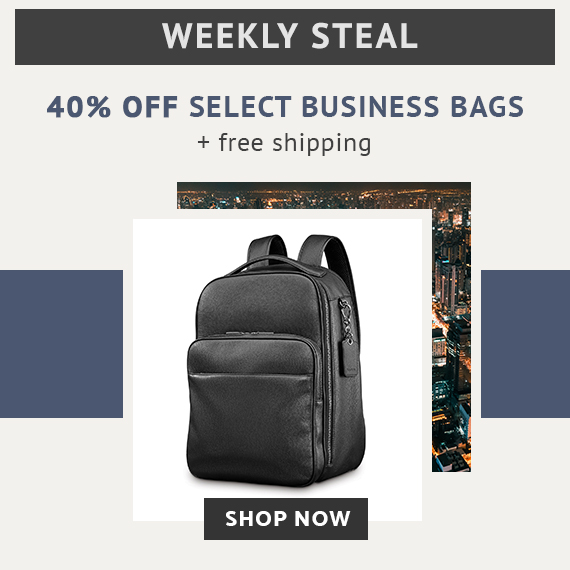 4268fd2c41 Limited Time Only - Weekly Steal - 40% off Select Business Cases