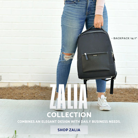 The Samsonite Zalia Collection - A modern feminine line that combines an elegant design with daily business needs. Shop the Samsonite Zalia Collection Now.
