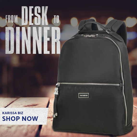 From Desk to Dinner with the Samsonite Karissa Biz Collection.