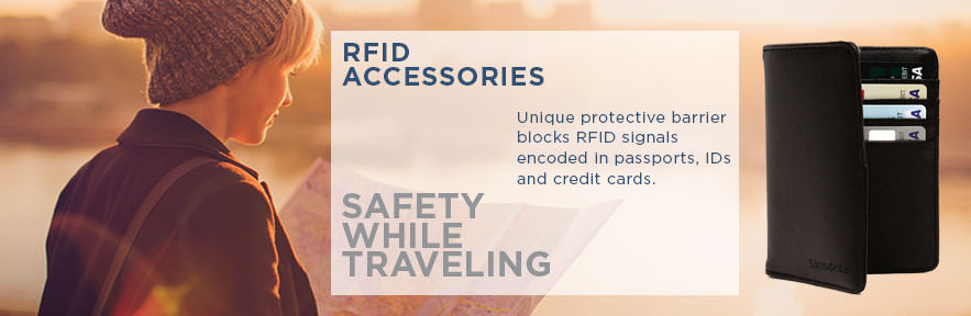 Travel with peace of mind! Protect your identity with Samsonite's wallets and passport covers. Shop Now.