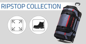 The Samsonite Ripstop Duffel Collection is made of super durable ripstop material and features smooth gliding wheels. Shop Now.