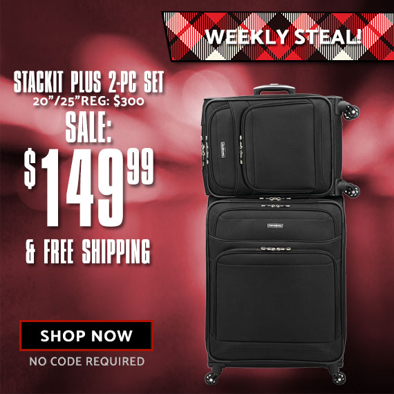 Limited Time Only! StackIt. Only on shop.samsonite.com. Shop Now.